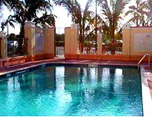 View of the Pool at the Hilton Garden Inn of Boca Raton